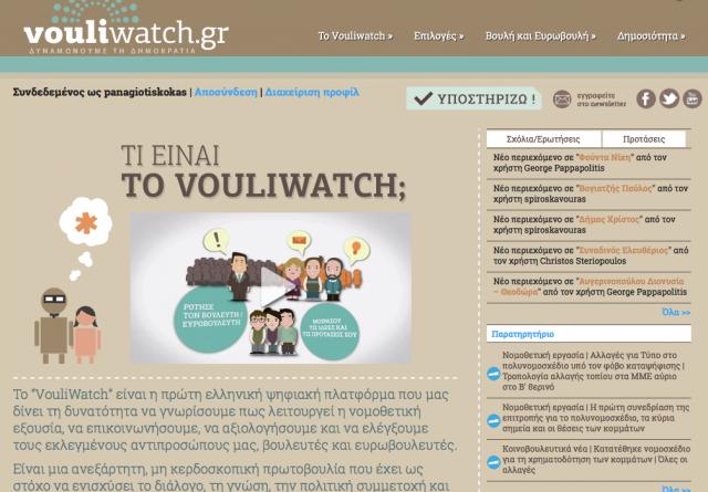 Crowdpolicy-Vouliwatch